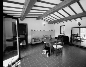 stanza fuori del giardino stile toscano del bed and breakfast eridu a fiesole vicino firenze