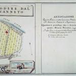 L'originale dipinto del vecchio catasto fiorentino del 1500 A.C.
