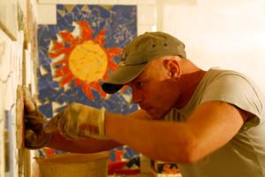 Il mosaico di Eridu creato con materiale di scarto