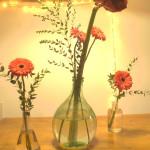 composizione fiori della cucina del bed and breakfast eridu a fiesole