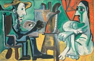 Mpostra di Picasso e la modernità Spagnola a Firenze in Villa Strozzi