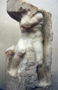 Gli schiavi, Michelangelo Buonarroti, Museo dell'Accademia di Firenze